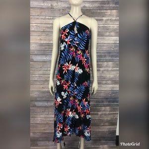 Lovestitch Women's Keyhole Low Tie Back Dress